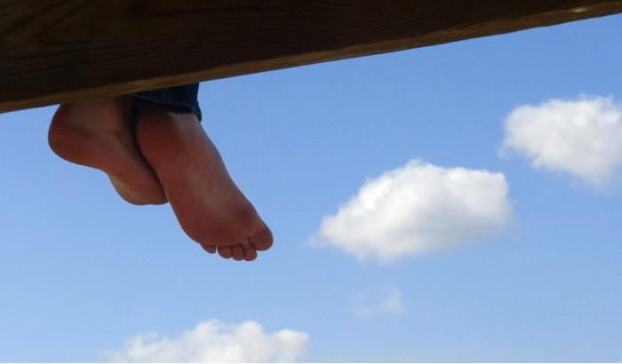 Sapatos tão confortáveis que me fazem andar nas nuvens