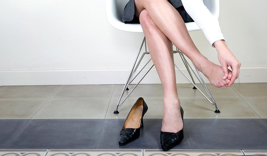 Consequências de não usar sapatos de trabalho adequados