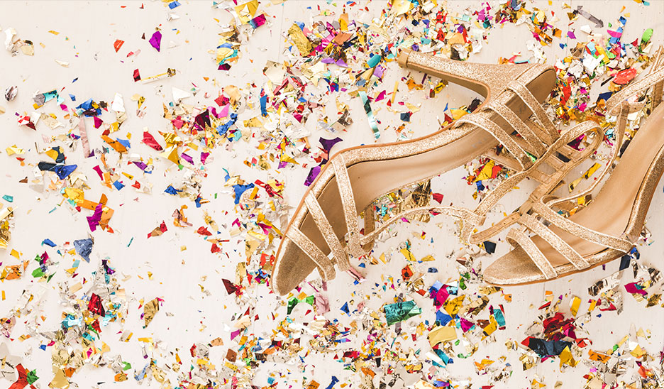Sapatos de festa, o que devo vestir?