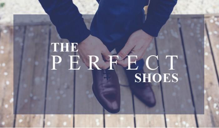 Os sapatos perfeitos para o homem