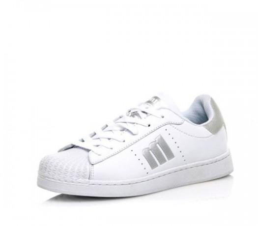 Tênis branco / prata menina Mtng