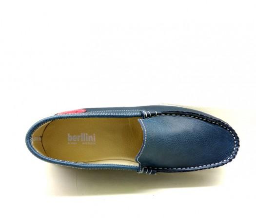 Mocassins azuis Berllini 560