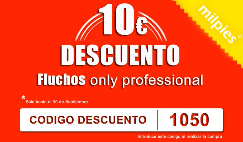 Discount code Fluchos only profissional