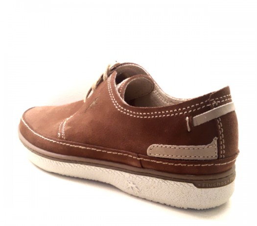 Brown Suede Shoes Fluchos