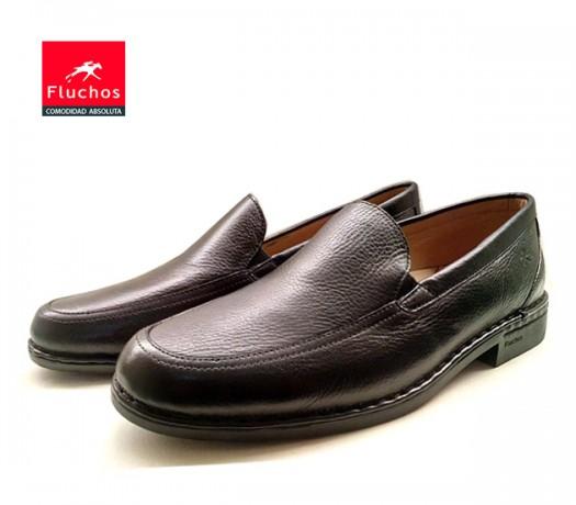 Sapatos sem atacadores Fluchos 8118 preto