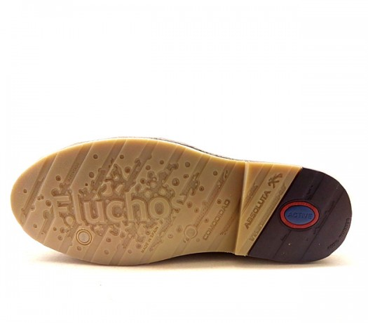 9384 sapatos Fluchos Huellas azuis