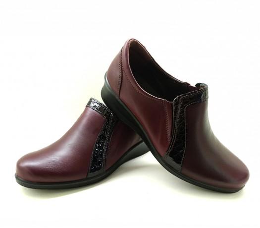 Sapatos Em Cunha Mulher 21803 Bordeaux