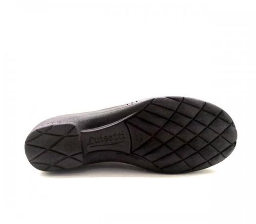 Sapatos Confort Lady 9500 Preto