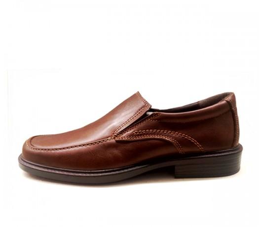 Sapatos Homen 13620 Cor Couro