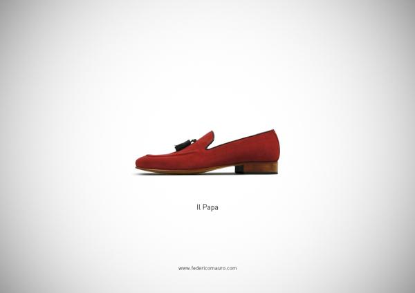 Los zapatos del Papa
