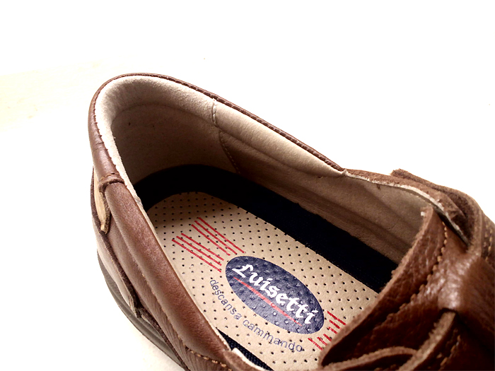 sandalias hombre marrón