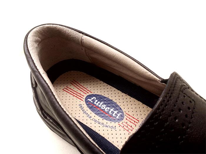 Interior de calidad en calzado Luisetti